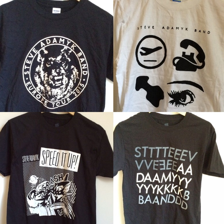 Image of Steve Adamyk Band - Shirts