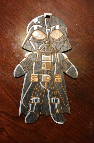 Image of Darth Vader Ornament