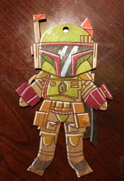 Image of Boba Fett Ornament