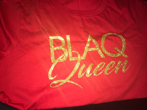 Image of BLAQ QUEEN RED
