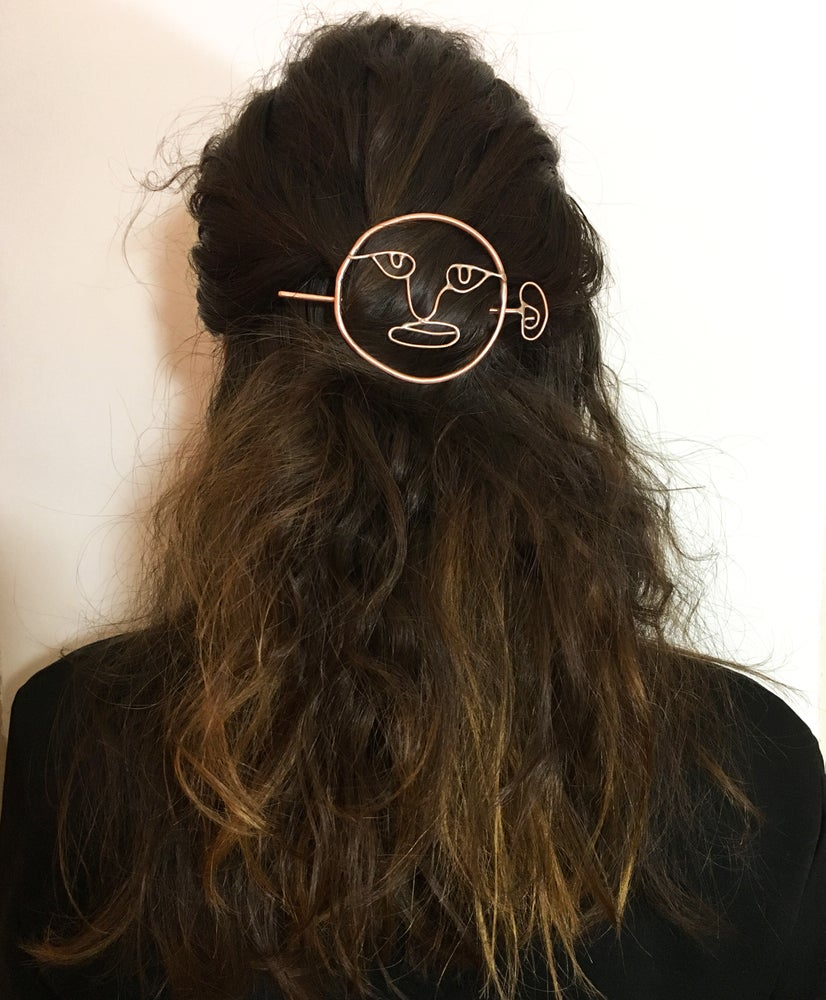 Image of Looking Back Hair Pin