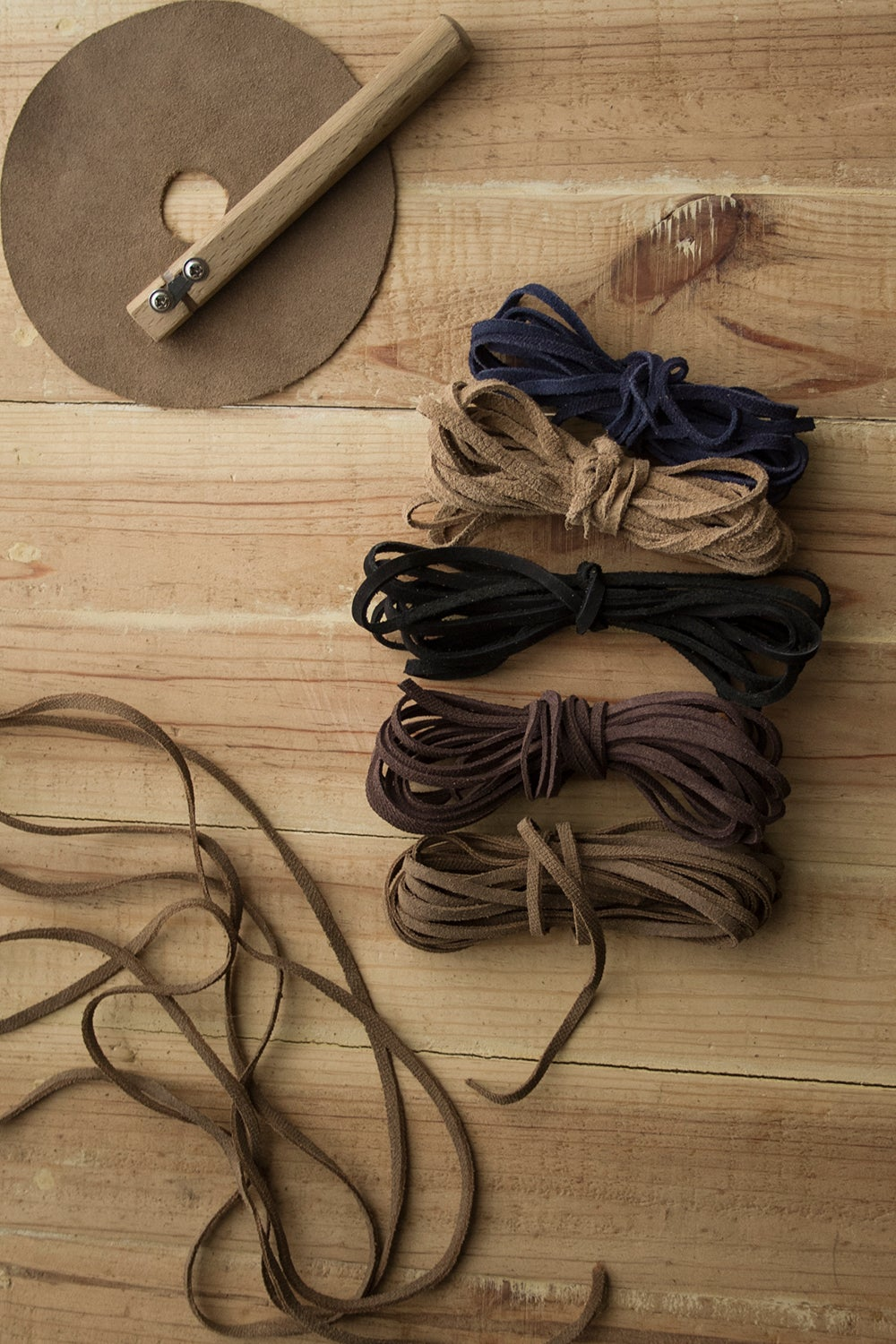 Image of Handcut Leather Laces