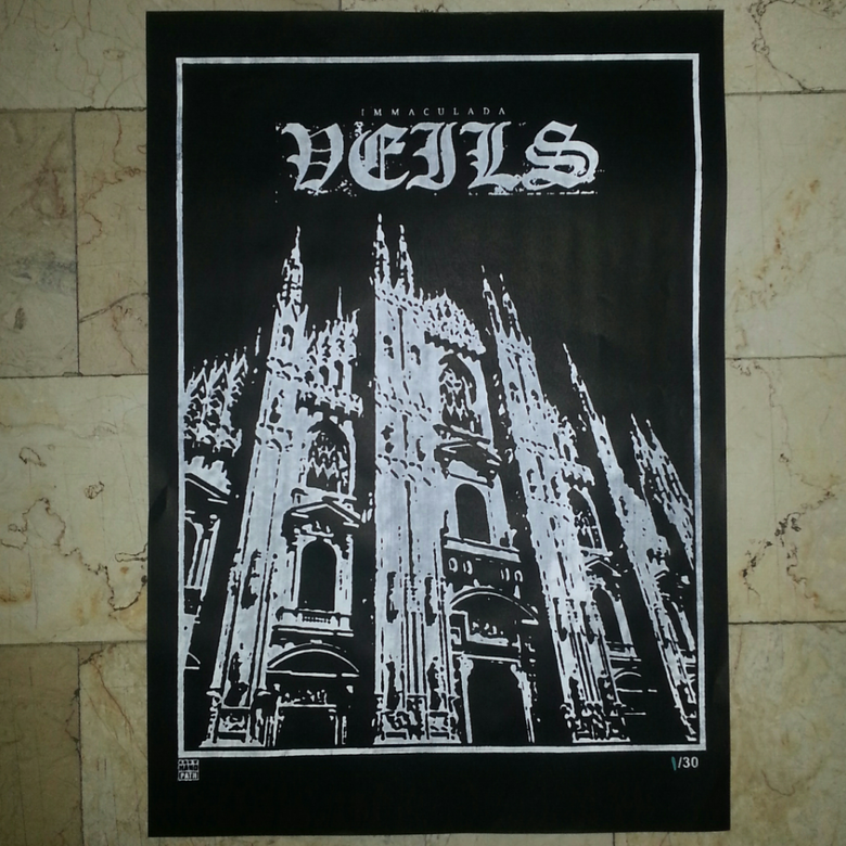Image of VEILS - immaculada poster