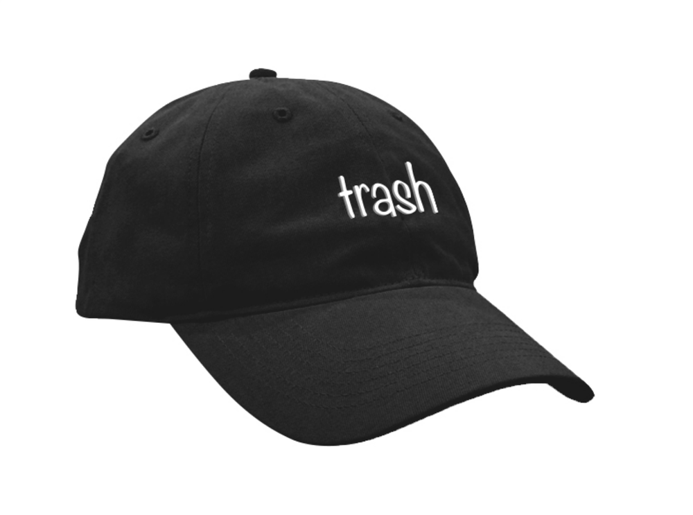 Image of BLACK TRASH HAT