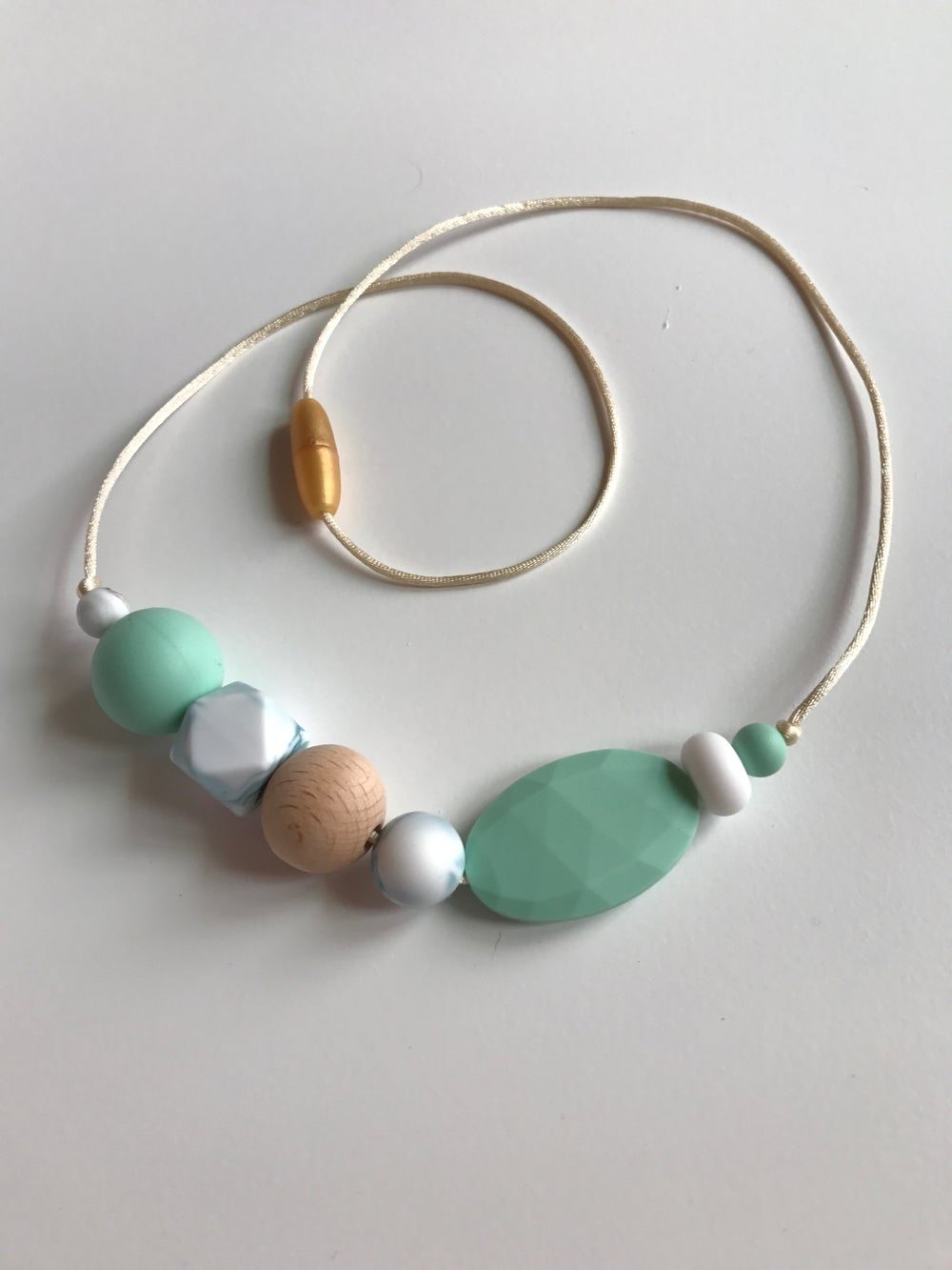 Image of 'Cocos' Sensory Silicone Bead Necklace (BPA free)