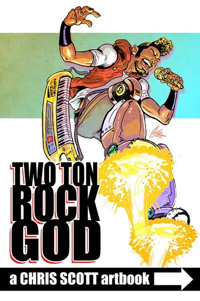 Image of Two Ton Rock God: Artbook