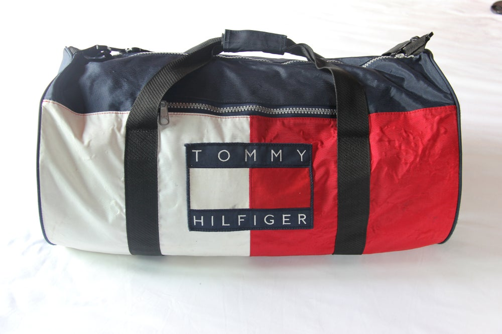 6c9b95179b THE POCKET — Vintage Tommy Hilfiger Duffle Bag