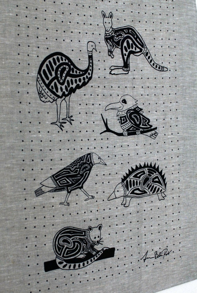 Image of Animal Mix Tea Towel