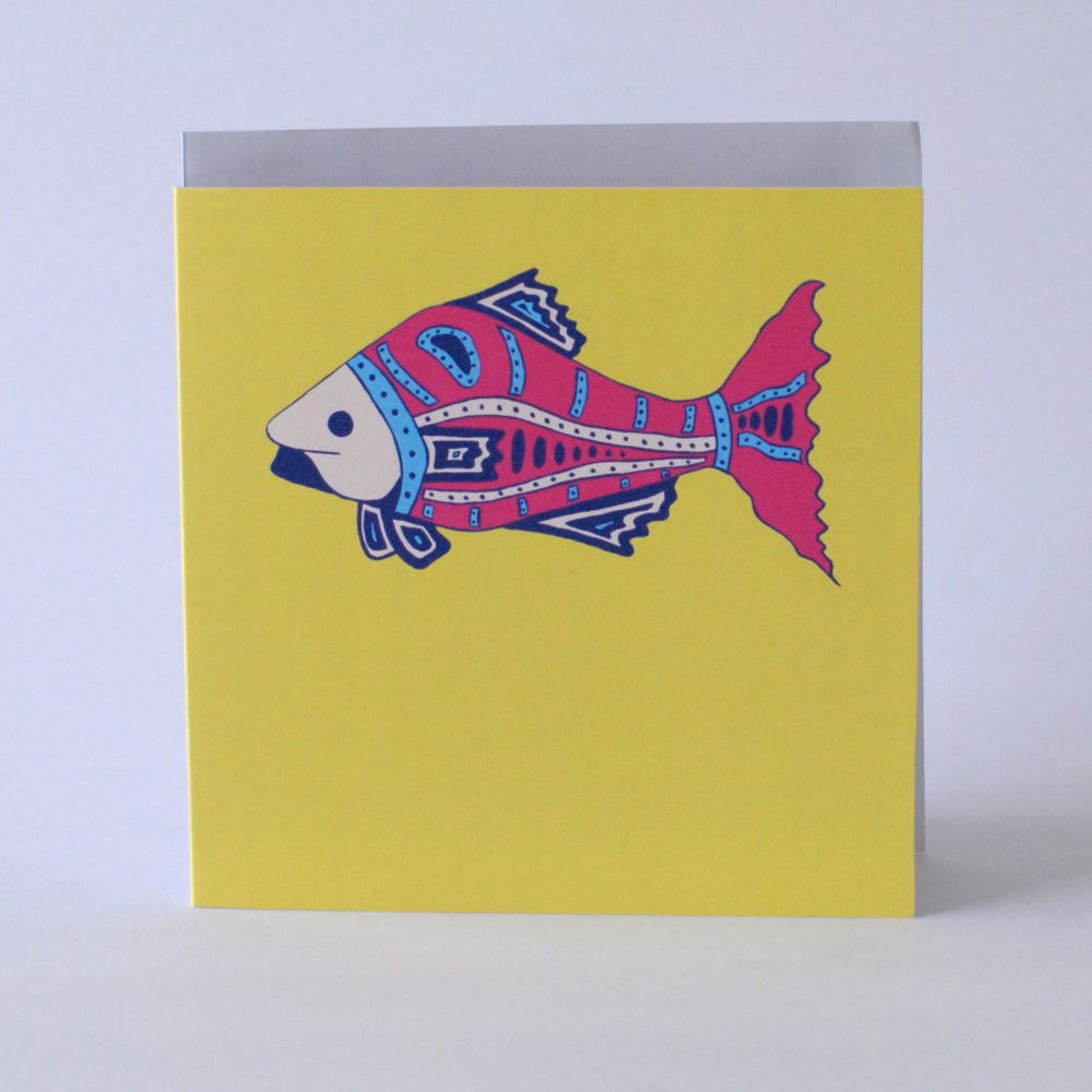 Image of Fish Card