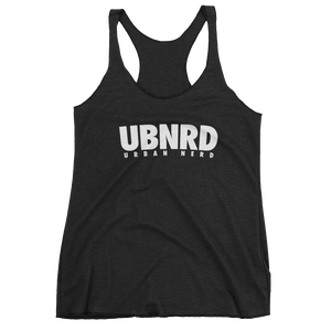 Image of HASHTAG Ladies Racerback Tank (BLACK) by Urban Nerd ™