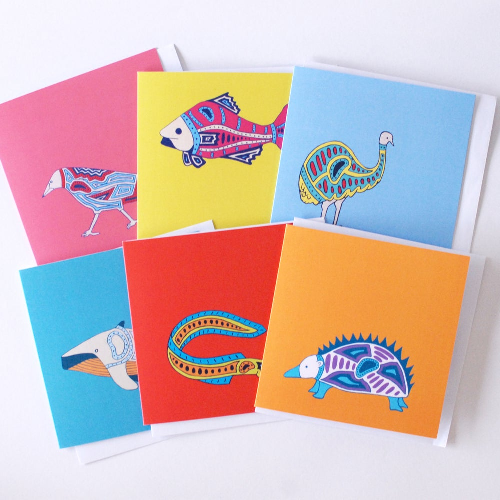 Image of Mix Pack of 6 Cards