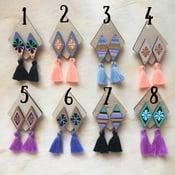 Image of 🌵FIESTΔ Tassel Earrings