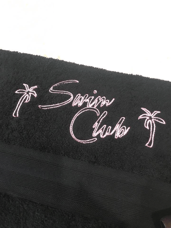 Image of Swim Club Logo Towel