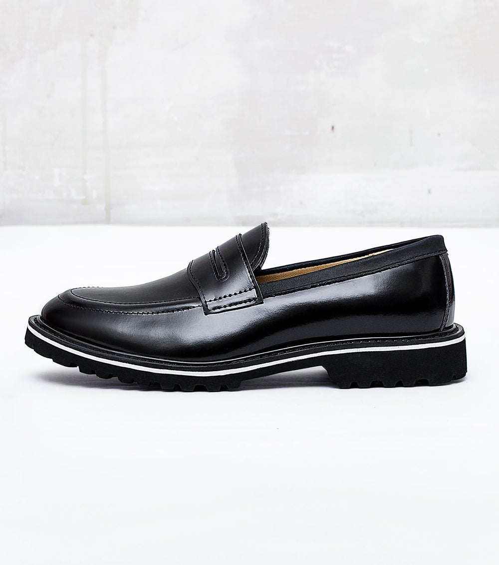 Image of Handmade Shoes | 201 Loafers Black Edition