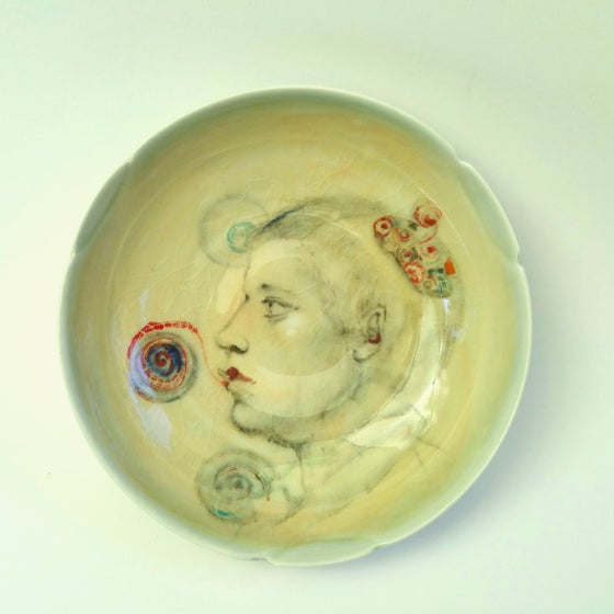 Image of Hubble Popper Porcelain Portrait Bowl