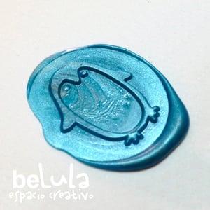 Image of Sello de lacre: Pingüino
