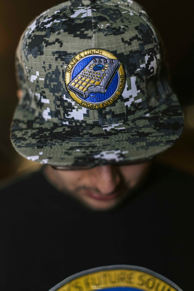 Image of SP-404 B4L SNAPBACK (LIMITED EDITION/1-OF-A-KIND)