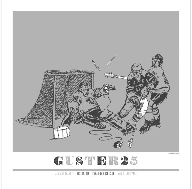 Guster 25 Year Anniversary Gig Poster