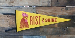 Image of Rise & Shine Pennant