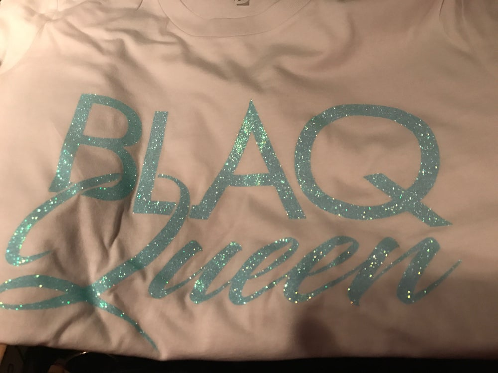 Image of BLAQ QUEEN BABY BLUE