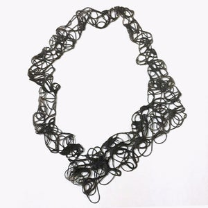 Image of Doodle Necklace - black I