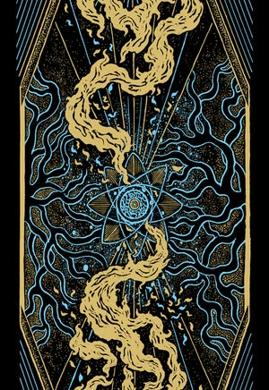 "Image of Artprint ""Dancing flames"""