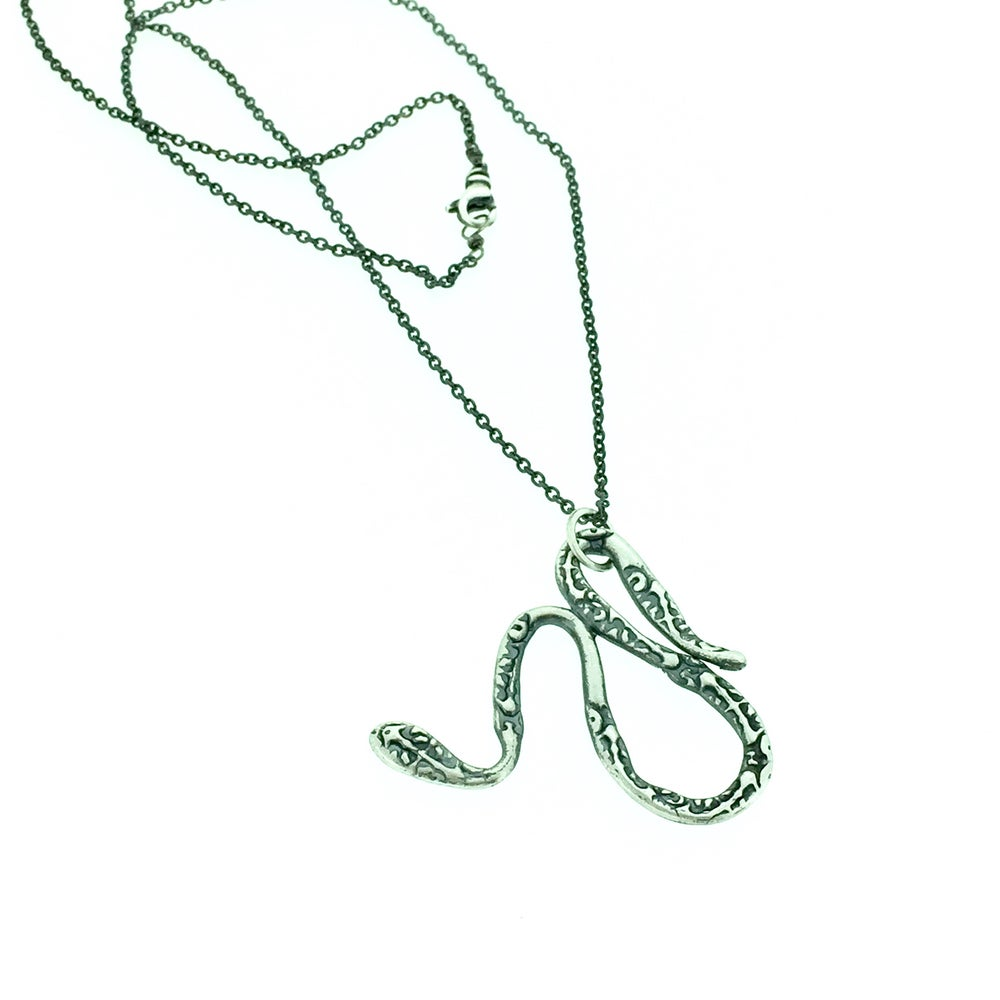 Image of serpent talisman necklace n-1