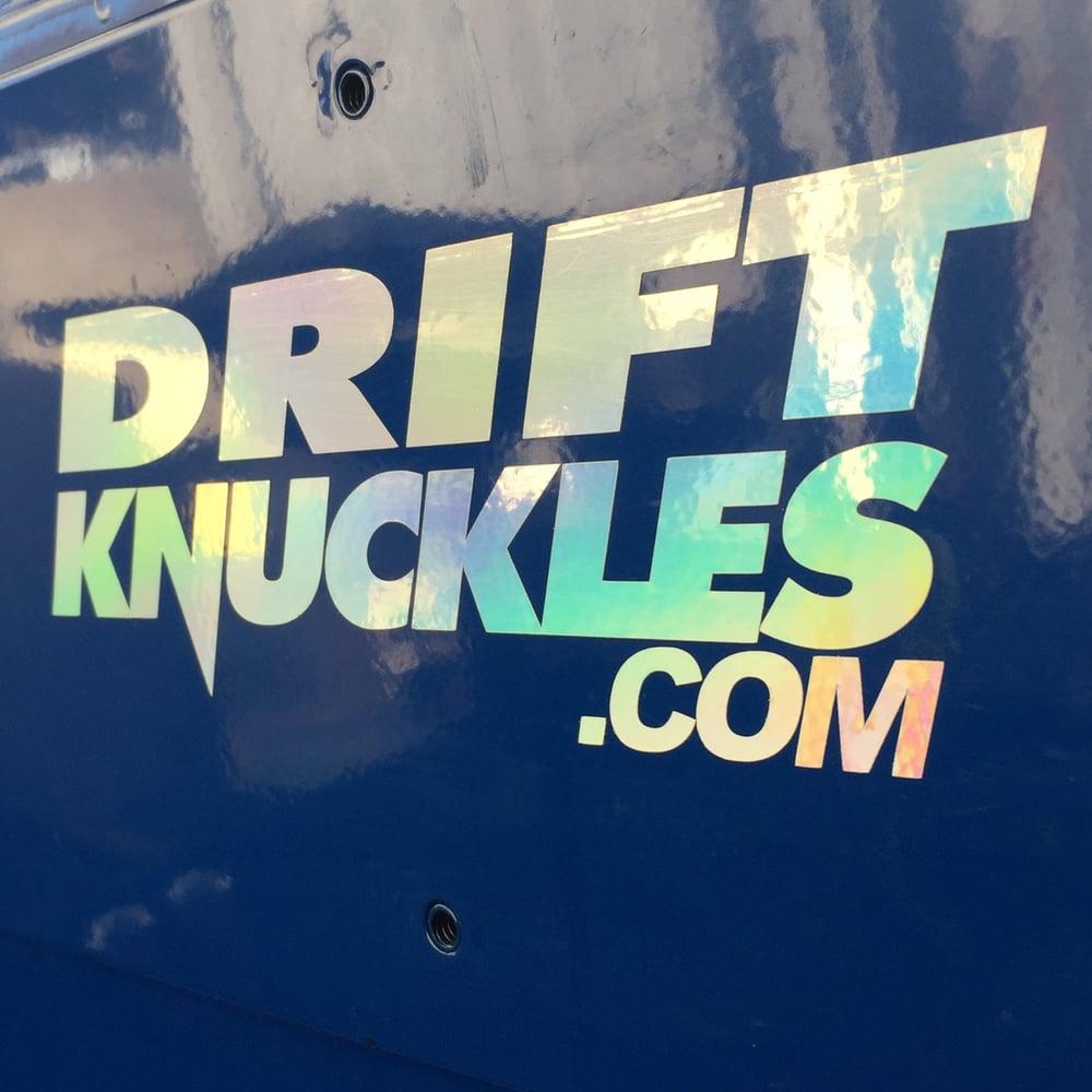 Image of Driftknuckles.com Stickers!