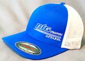 Image of Royal Blue & White FlexFit Hat