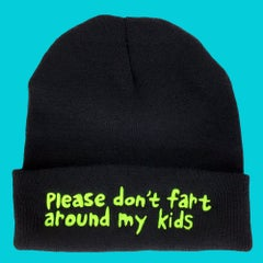 Please don't fart around my kids beanie - Sick Animation Shop