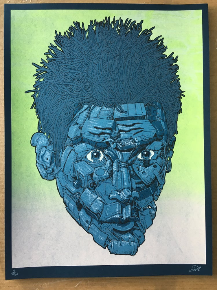 Image of Blue Steel (Zoolander art print)