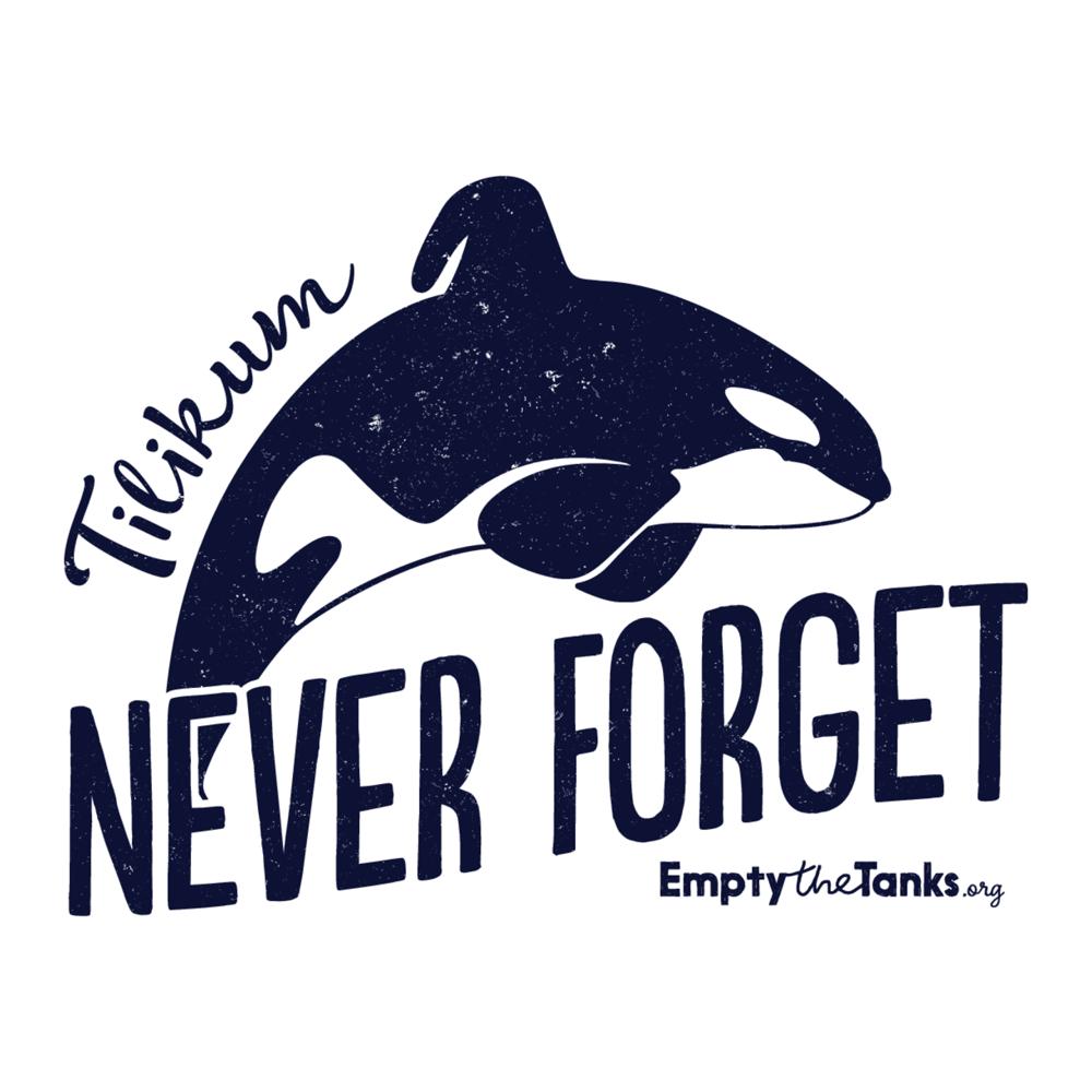 Image of Tilikum - Never Forget Sticker