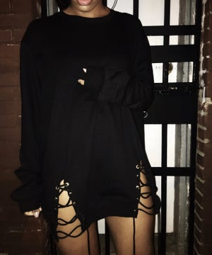 Image of 'Menace' Oversized Sweater Dress