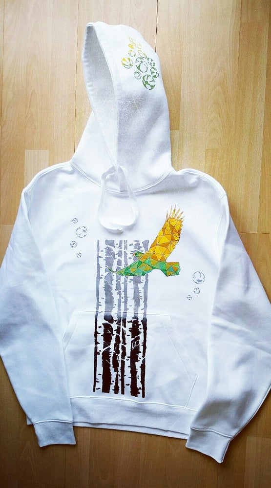 Image of Hand painted Hoodie: Eagle
