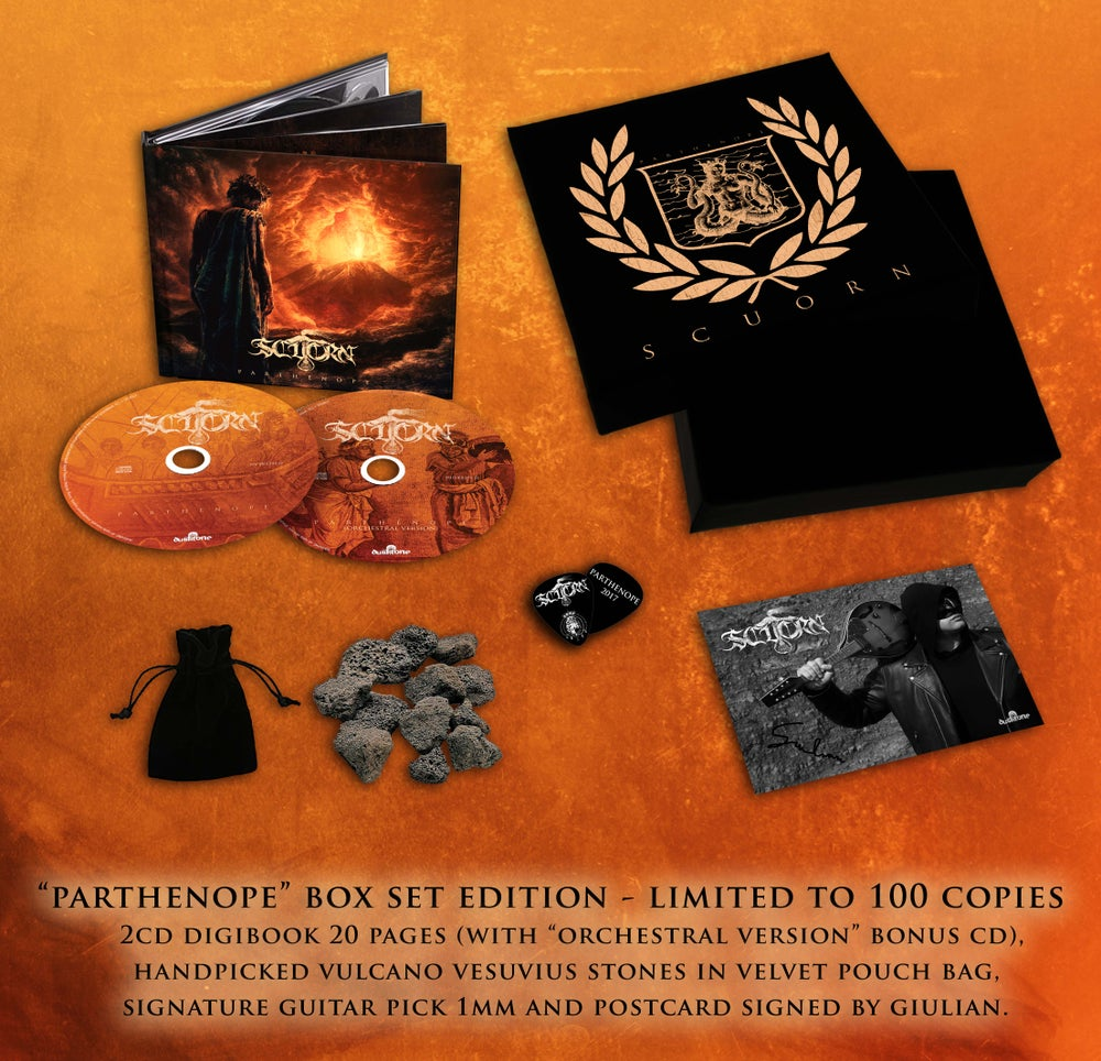 Image of PARTHENOPE BOX SET LIMITED EDITION