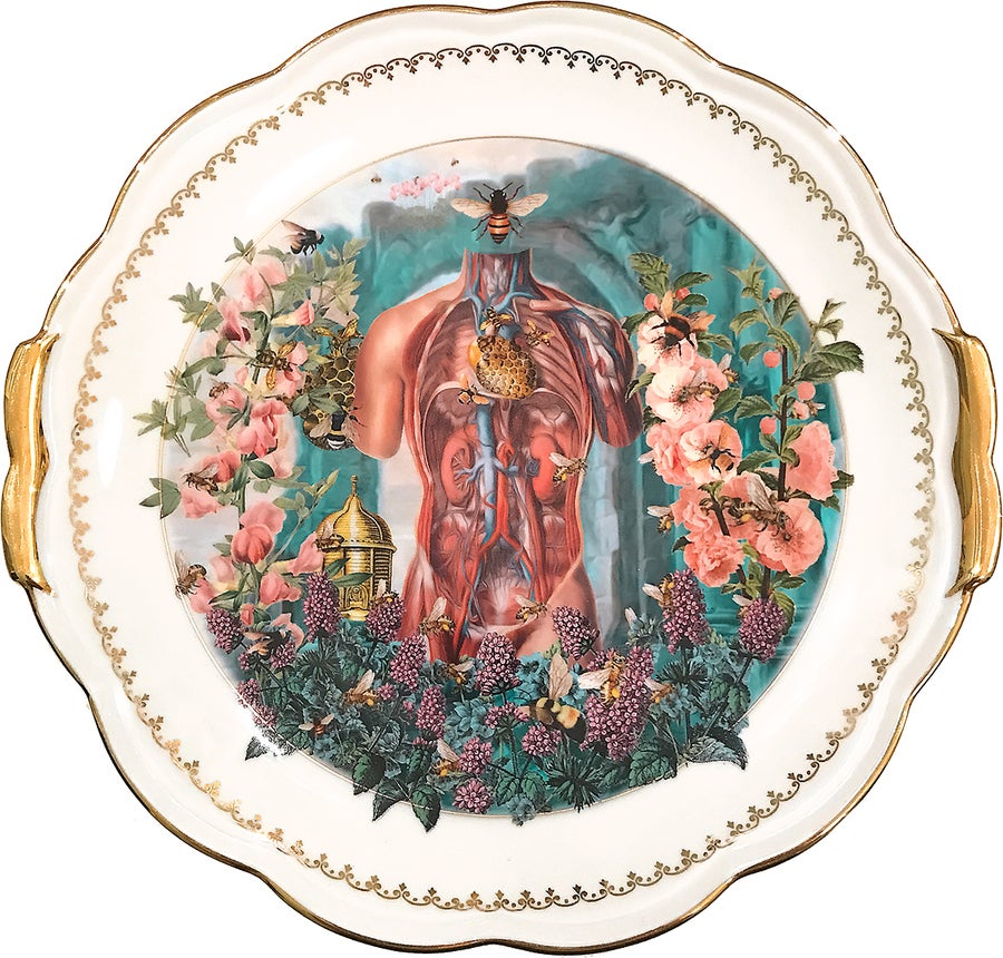 Image of Ode to the Human Body - Porcelain tray - #0000