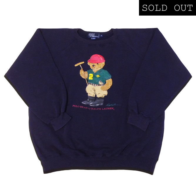 Image of Polo Ralph Lauren Polo Bear Sweatshirt '93