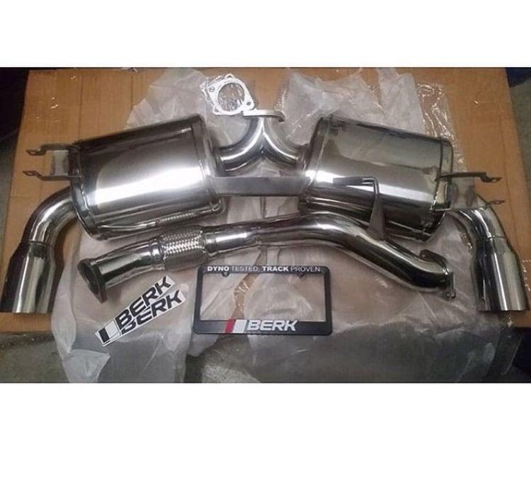 Image of Berk Turbo Exhaust v4 91-99 MR2 MK2 SW20