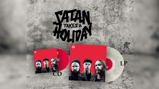 Image of Satan Takes A Holiday - The Great Satan Pack (CD/LP)