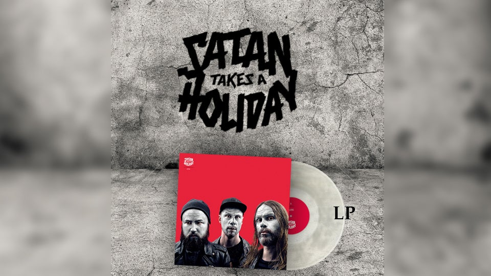 Image of Satan Takes A Holiday - The Nice Satan Pack (Transparent Clear LP)
