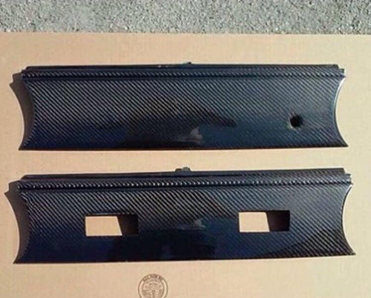 Image of 94-99 Kouki Lights Carbon fiber rear center panel