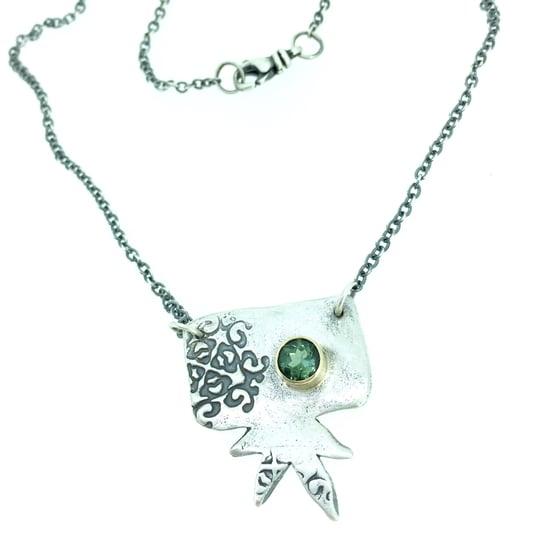 Image of starburst tourmaline necklace