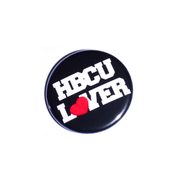 Image of HBCU Lover Pin Back Button