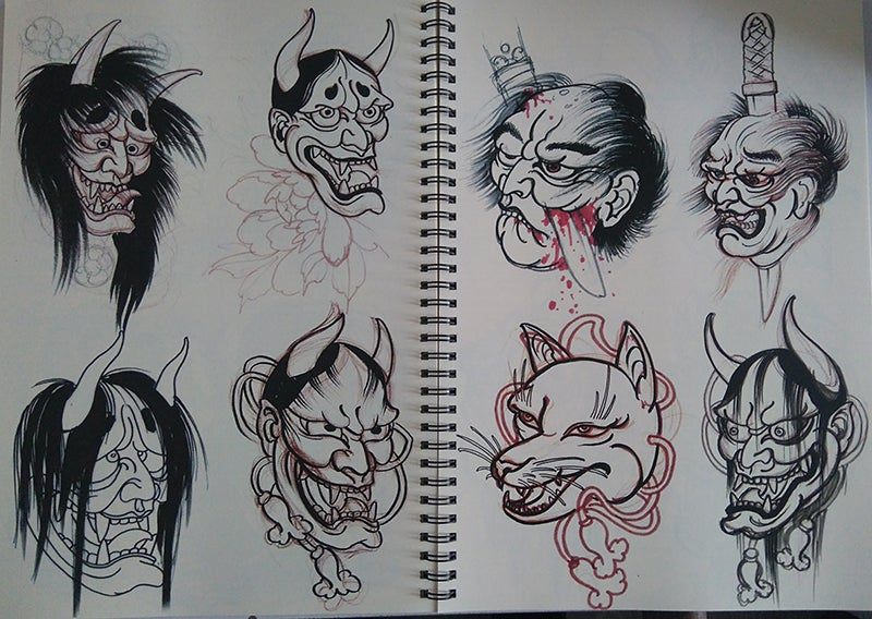 Image of Alix's sketchbook vol.2