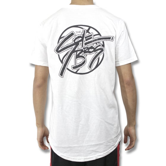 Image of Sole Logo Long Tee (White)