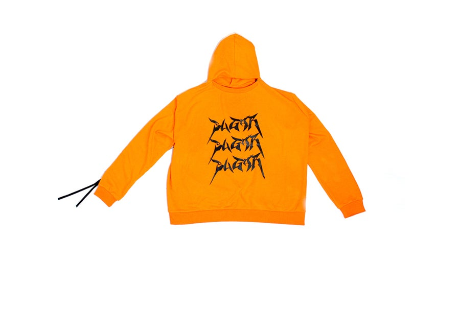 Image of SUGAR005 LOGO HOODY - ORANGE