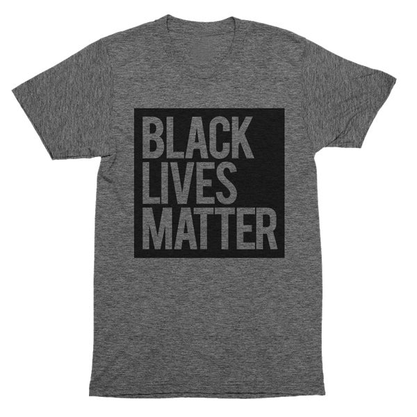 Image of Black Lives Matter Grey Unisex T-Shirt