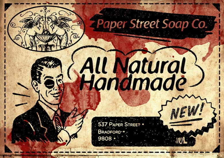 Image of Paper Street Soap (A5 Print)