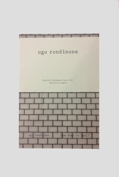 Image of Ugo Rondinone - Sunrise East - How does it feel?