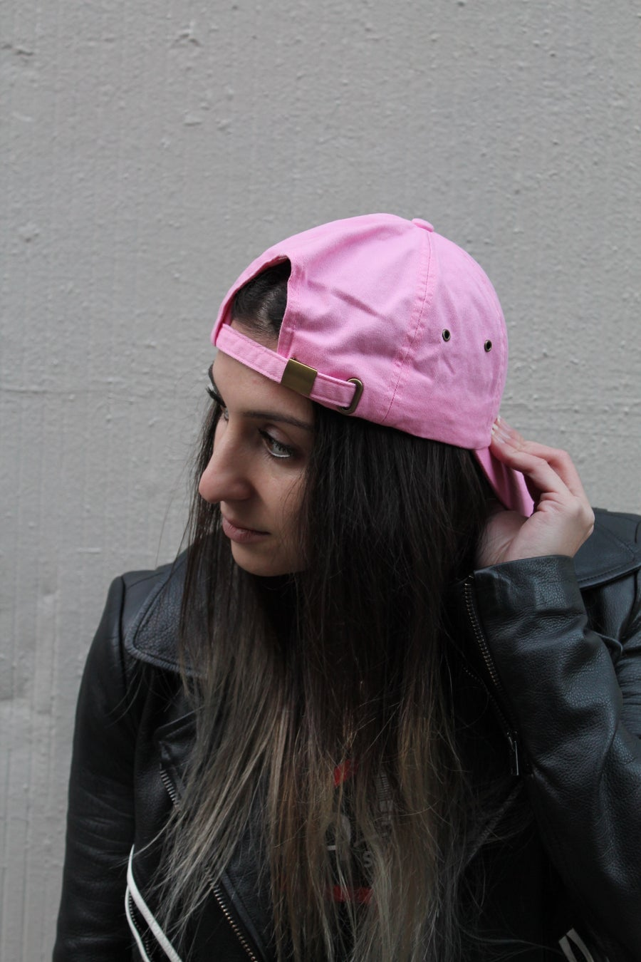 Image of Pink dad hat